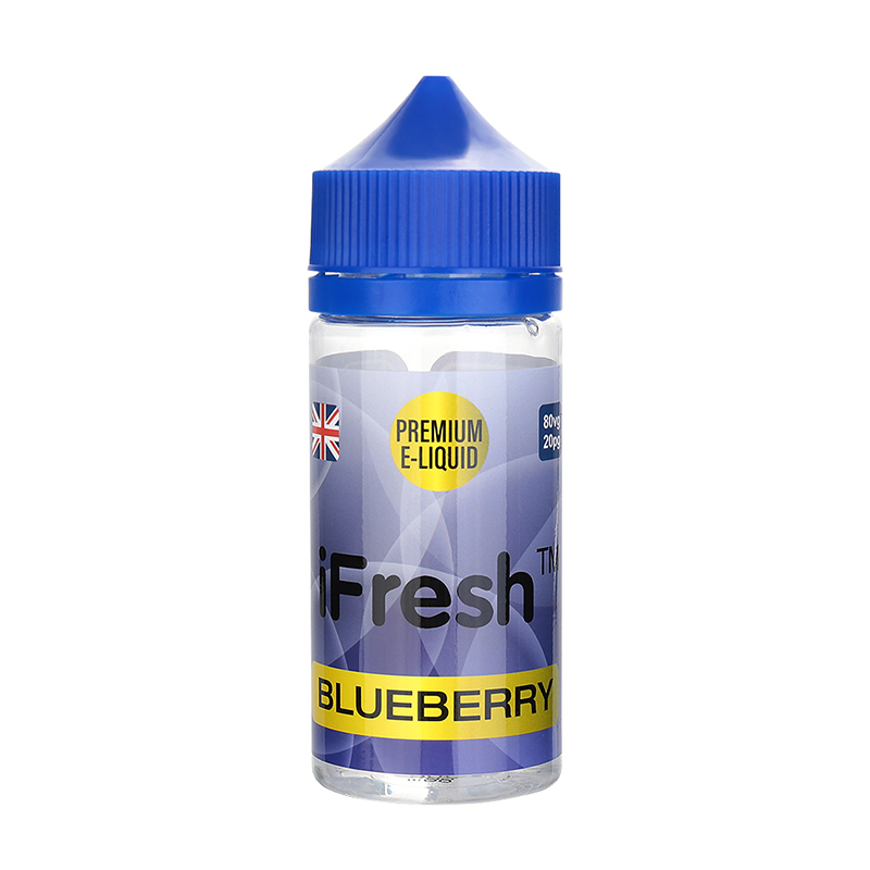 Ifresh E Liquid-Blueberry Flavour-0mg-80ml