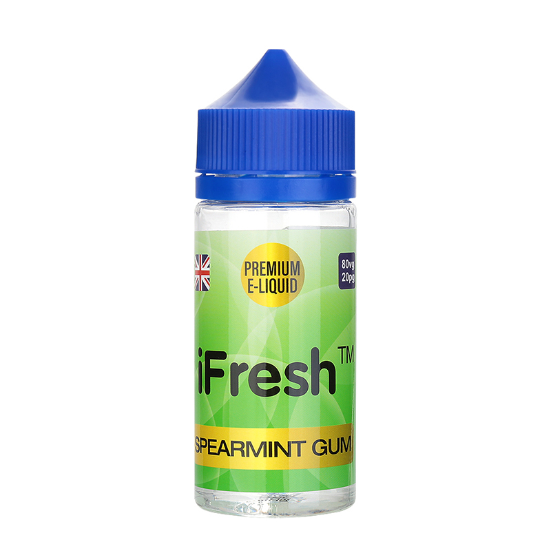Ifresh E Liquid-Spearmint Gum Flavour-0mg-80ml