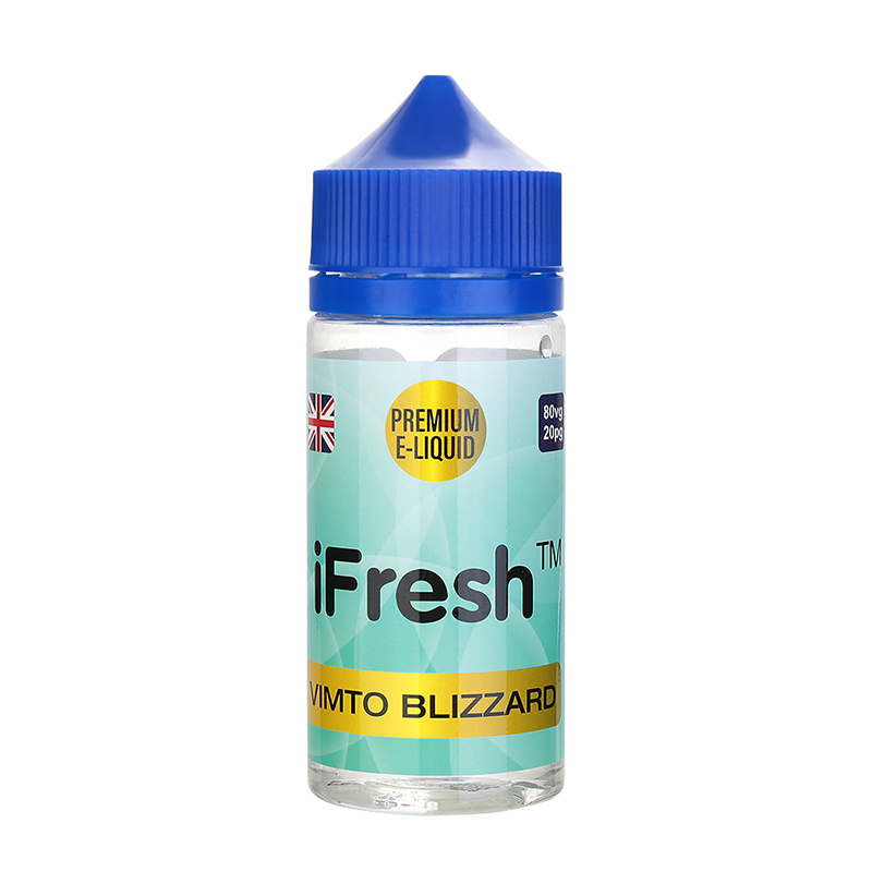 Ifresh E Liquid-VIMTO BLIZZARD Flavour-0mg-80ml