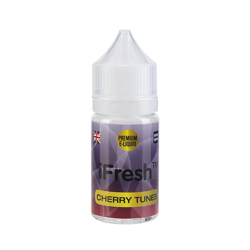 Ifresh E Liquid-Cherry Tunes Flavours-25ml-0mg