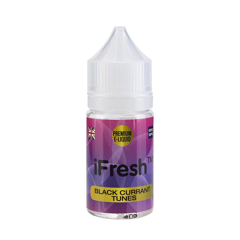 Ifresh E Liquid-Blackcurrant Tunes Flavours-25ml-0mg