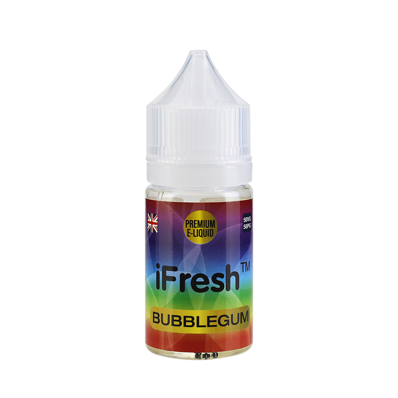 Ifresh E Liquid-Bubblegum Flavours-25ml-0mg