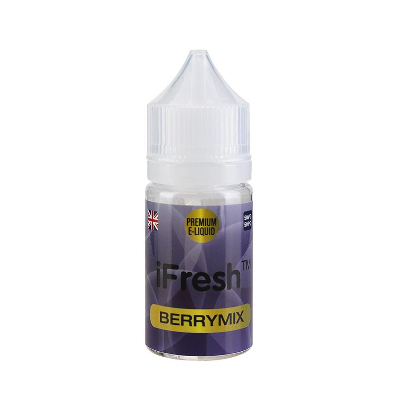 Ifresh E Liquid-Berrymix Flavours-25ml-0mg
