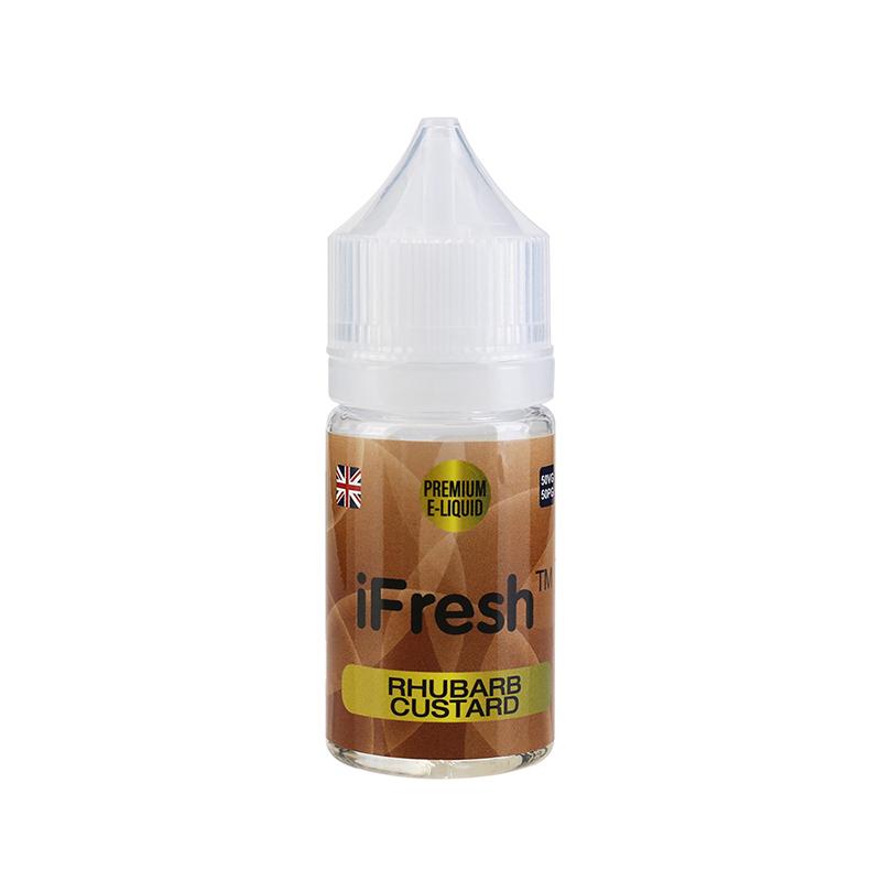 Ifresh E Liquid-Rhubarb & Custard Flavours-25ml-0mg