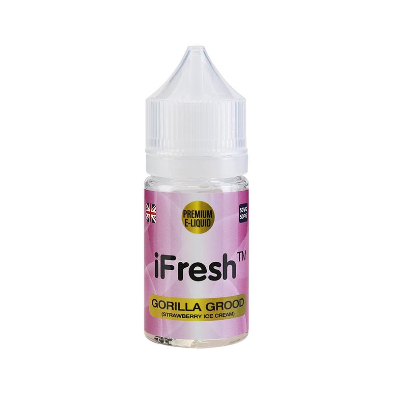 Ifresh E Liquid-Gorilla Grood Flavours-25ml-0mg