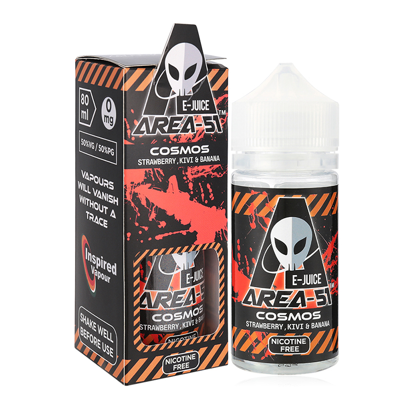 Area 51-Cosmos Flavours E Liquid-0mg-80ml