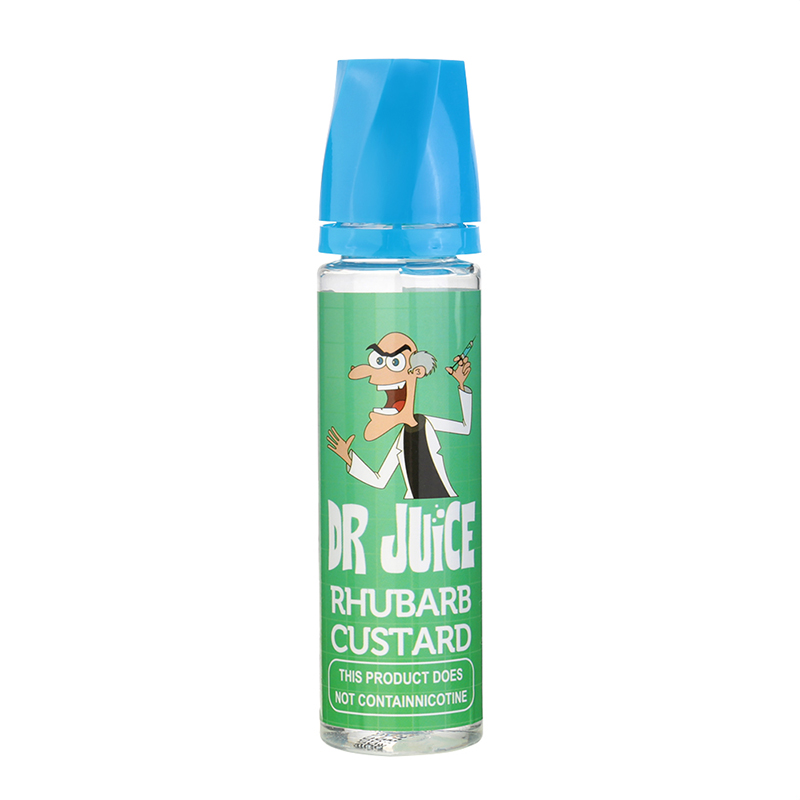 Rhubarb&Custard Flavours Nicotine Free E Liquid E Juice-50ML
