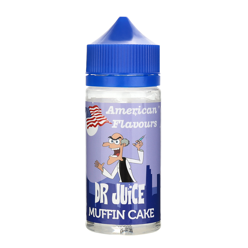 DR JUICE Nicotine Free E Liquid-Muffin Cake Flavours-80ML