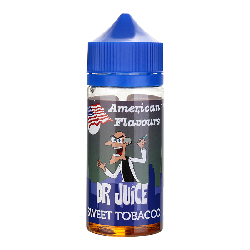 DR JUICE Nicotine Free E Liquid-Sweet Tobacco Flavours-80ML