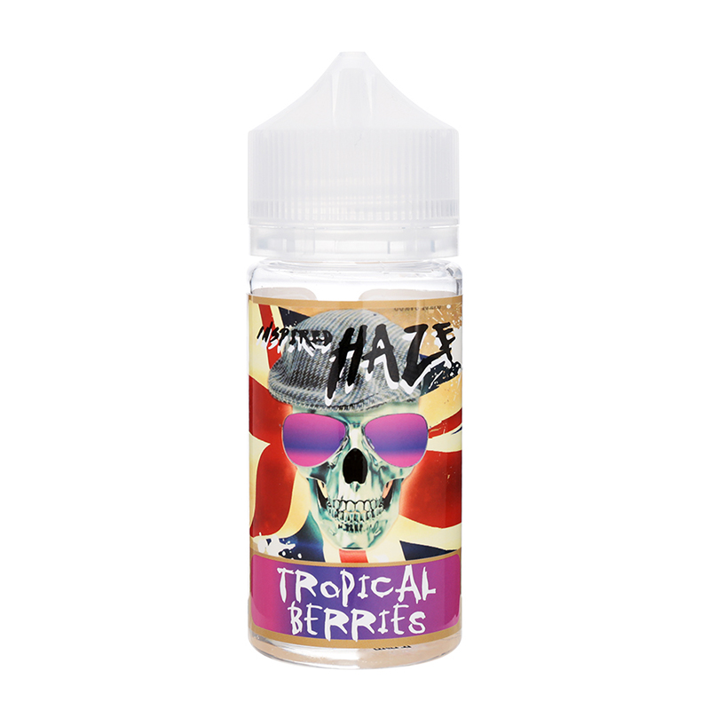 Inspired Haze E Juice 80ML Nicotine Free E-liquid-Tropical Berries Flavour