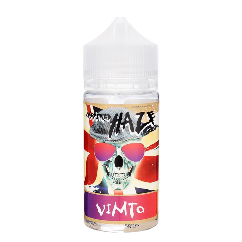 Inspired Haze E Juice 80ML Nicotine Free E-liquid-Vimto Flavour