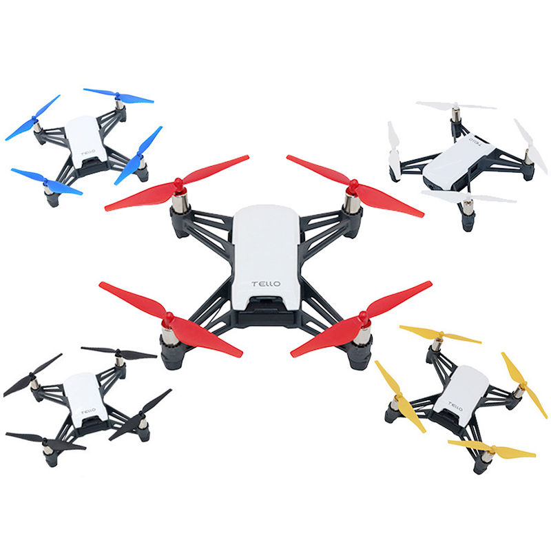 4Pcs Quick Release/Lock Propellers CW CCW Props Blades for DJI Tello Mini Drone - White