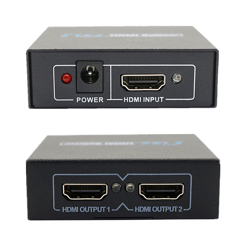 1080P HDMI Splitter Switch Extender 1 In 2 Out Adapter for HDTV HDCP