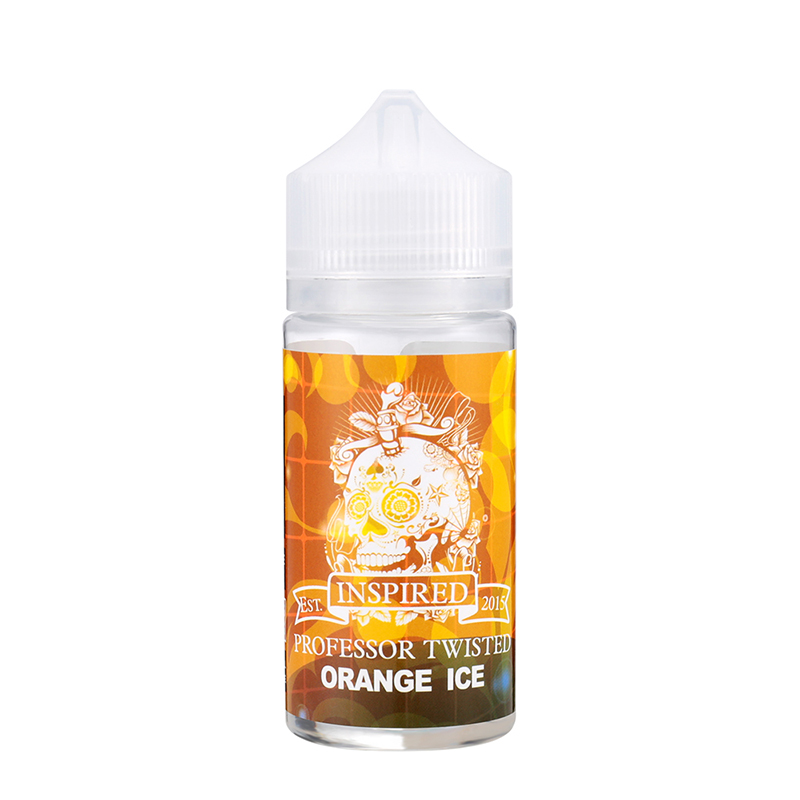 80ML Professor Twisted Fruity E-Liquid E Juice-Orange Ice Flavours