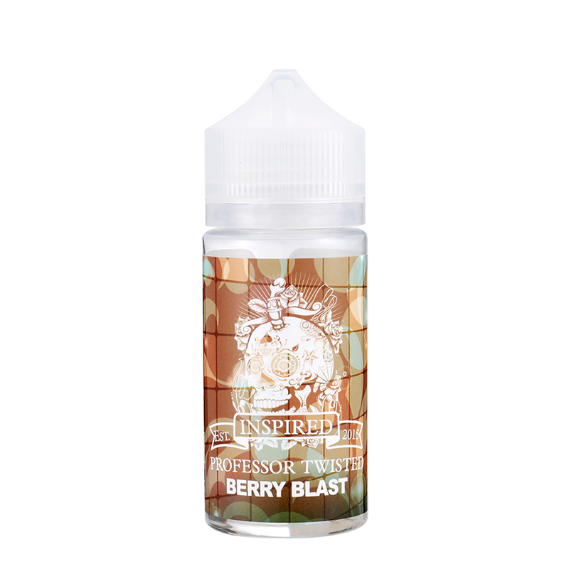 80ML Professor Twisted Fruity E-Liquid E Juice-Berry Blast Flavours
