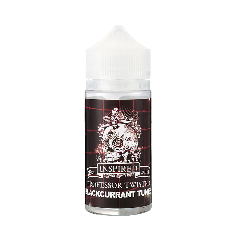80ML Professor Twisted Fruity E-Liquid E Juice-Blackcurrant Tunes Flavours