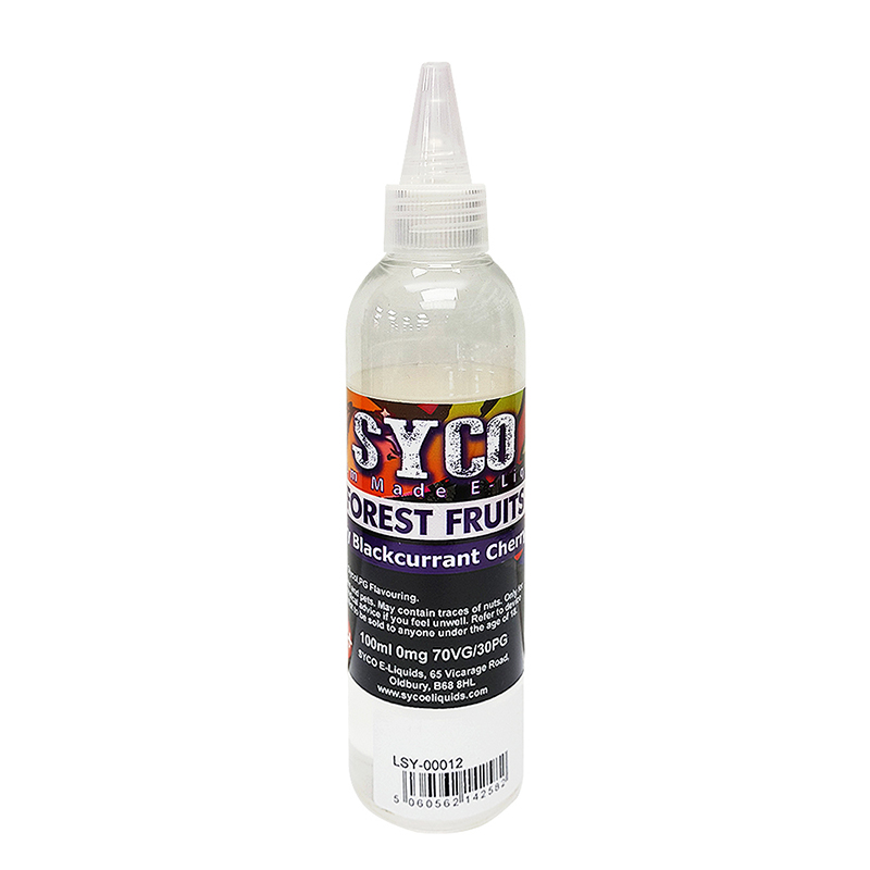 SYCO 100ML E-Liquid 70VG E Juice-Forest Fruits Flavours