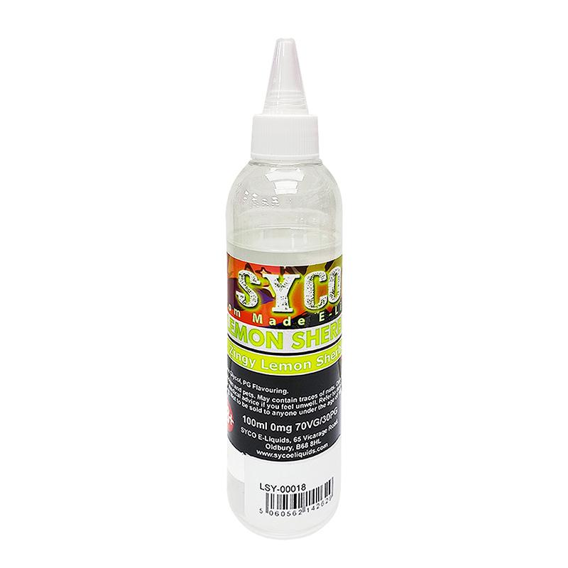 SYCO 100ML E-Liquid 70VG E Juice-Lemon Shebert Flavours
