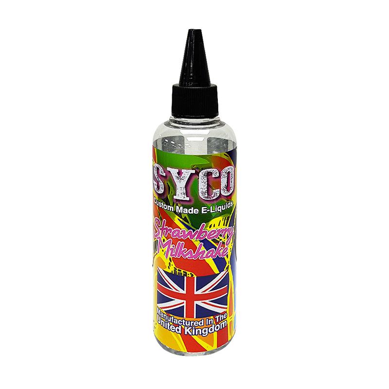 SYCO 100ML E-Liquid 70VG E Juice-Strawberry Milkshake Flavours
