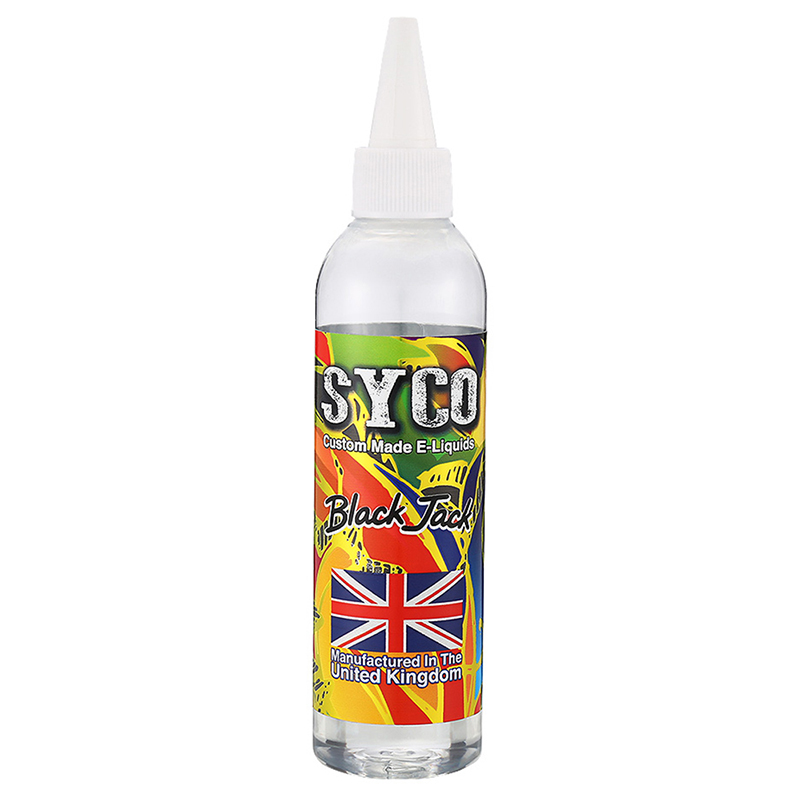 SYCO 100ML E-Liquid 70VG E Juice-Black Jack Flavours