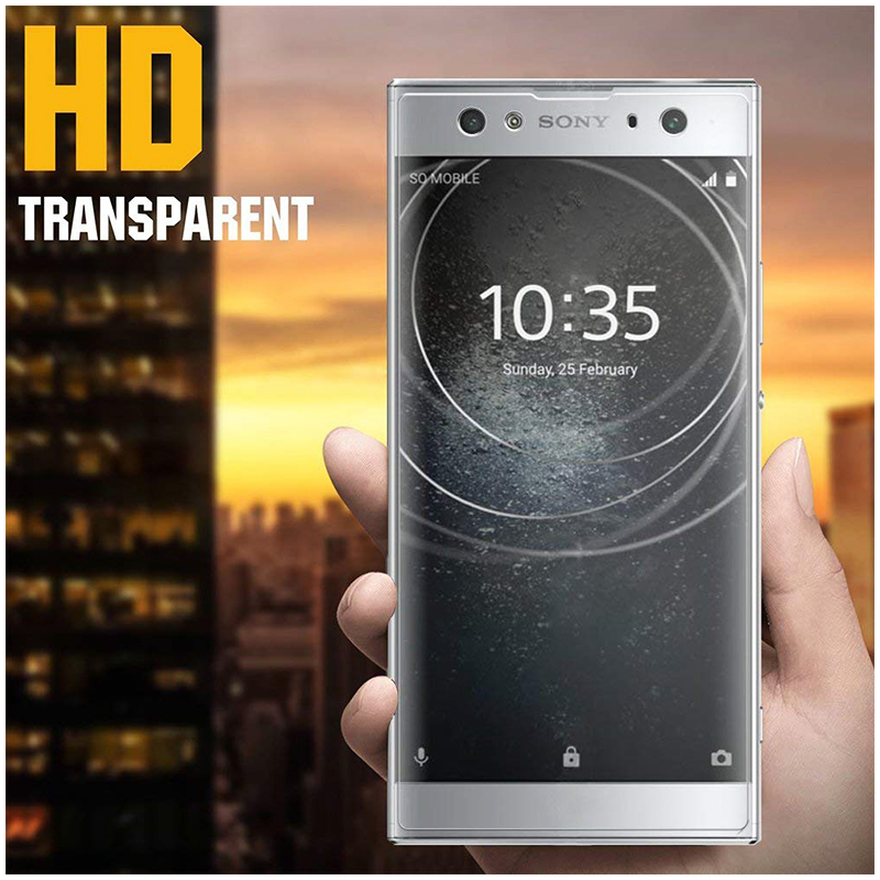 Ultra-Thin Clear 9H Hardness Anti-Scratch Tempered Glass Screen Protector Film for Sony Xperia XA2 Ultra