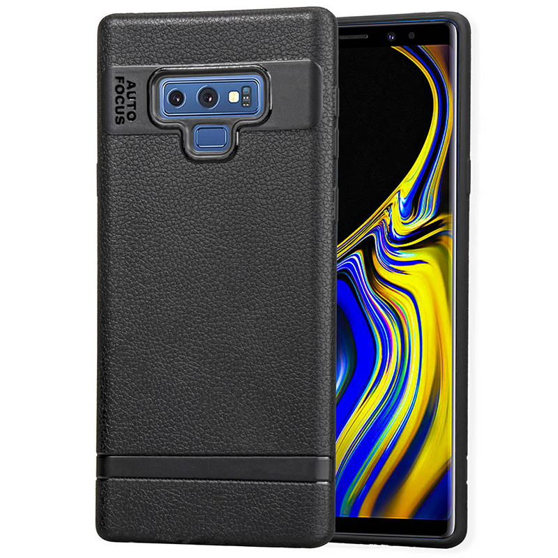 Slim Soft TPU Rubber Shockproof Anti-slip Case Back Cover for Samsung Note 9 - Black