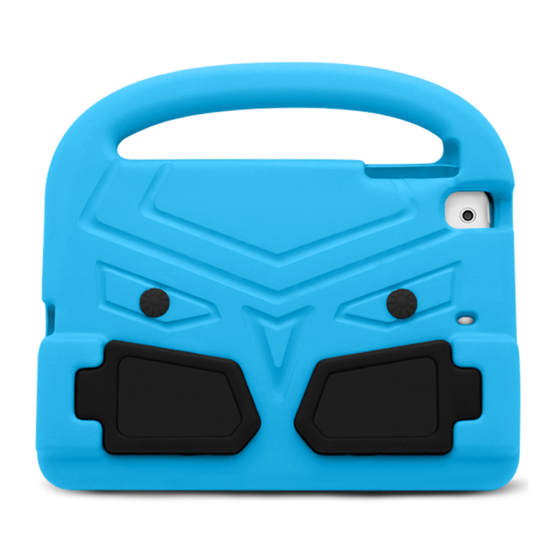 Kids Shockproof EVA Foam Stand Case Cover for Apple iPad Mini 2/3/4 - Blue