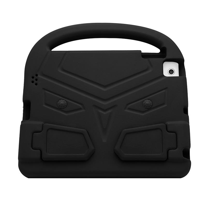 iPad 2/3/4 Shockproof EVA Foam Case Back Cover with Kickstand - Black