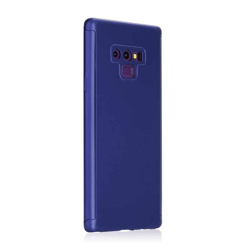 Full Body Protection Hard PC Case Back Cover for Samsung Note 9 - Blue