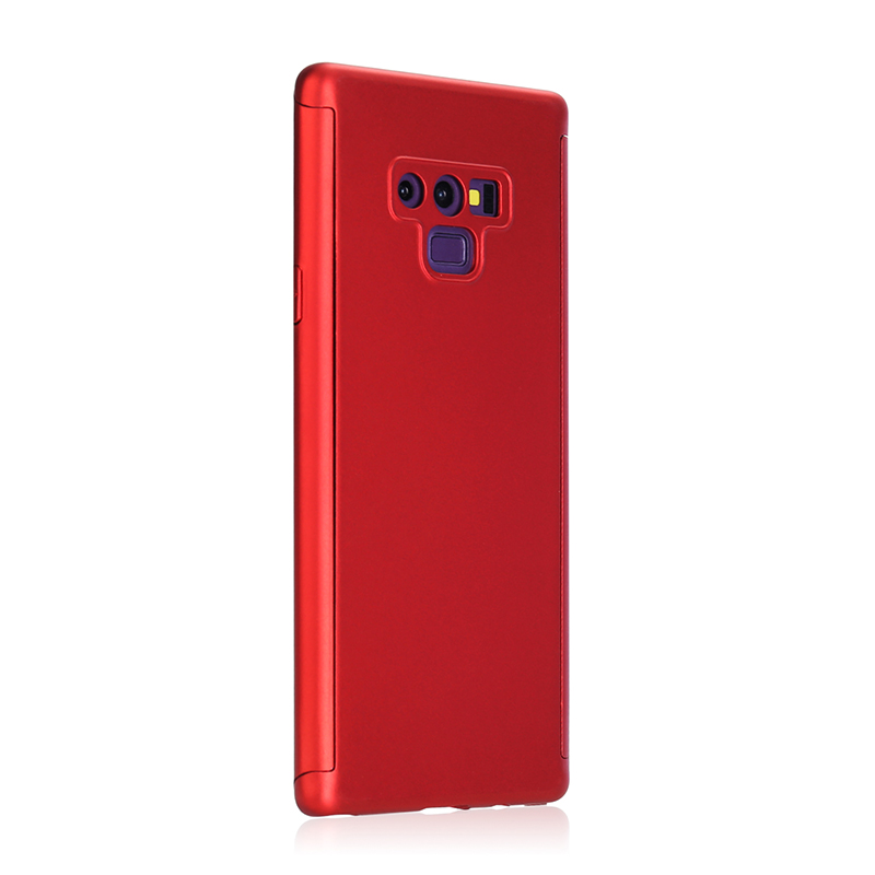 Full Body Protection Hard PC Case Back Cover for Samsung Note 9 - Red