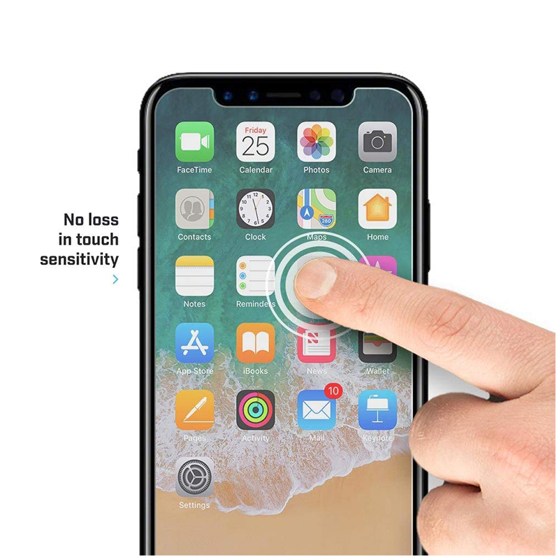 Ultra-Thin HD Clear 9H Shockproof Tempered Glass Screen Protector Film for iPhone XS Max/11 Pro Max