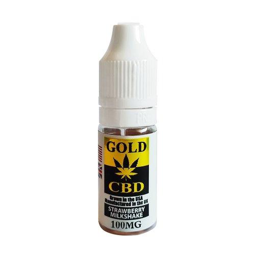 CBD E-liquid Strawberry Milkshake Flavours-100mg-10ml
