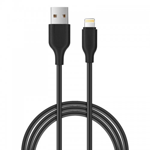 1M Charging Cable Cord Data Sync Line for iPhones iPads - Black