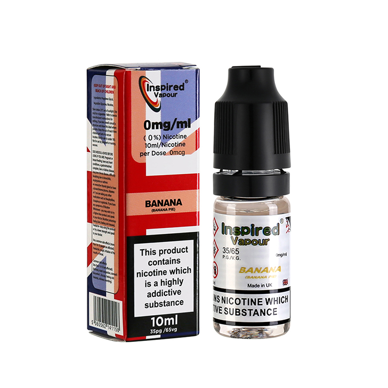Inspired-Banana Pie Flavours E-Liquid-0mg-10ml