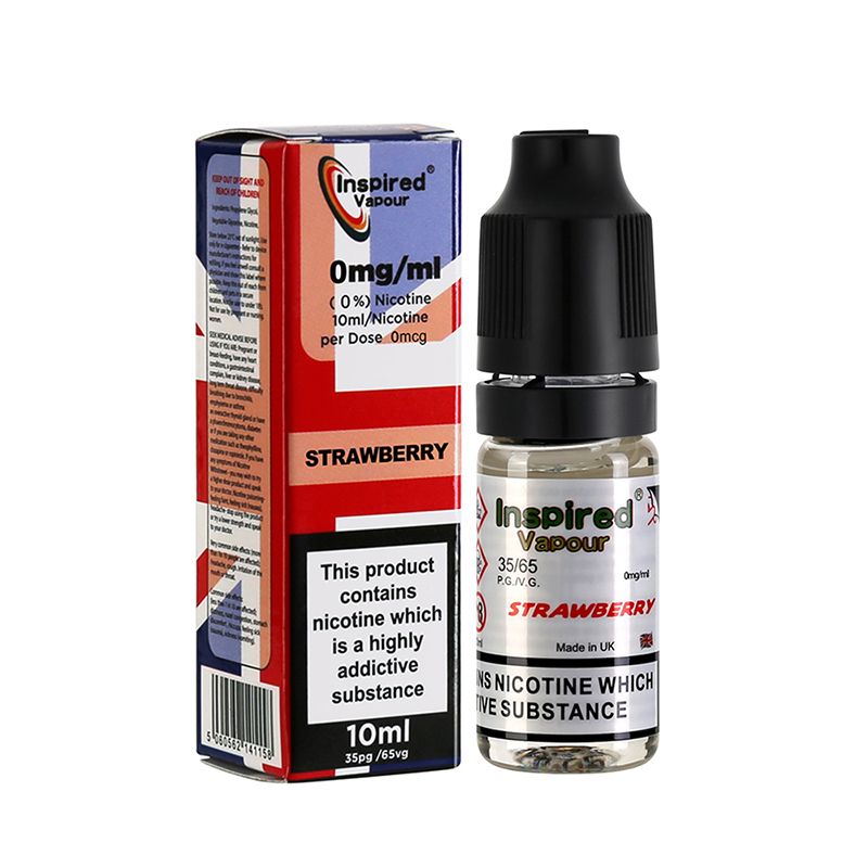 Inspired-Strawberry Flavours E-Liquid-0mg-10ml
