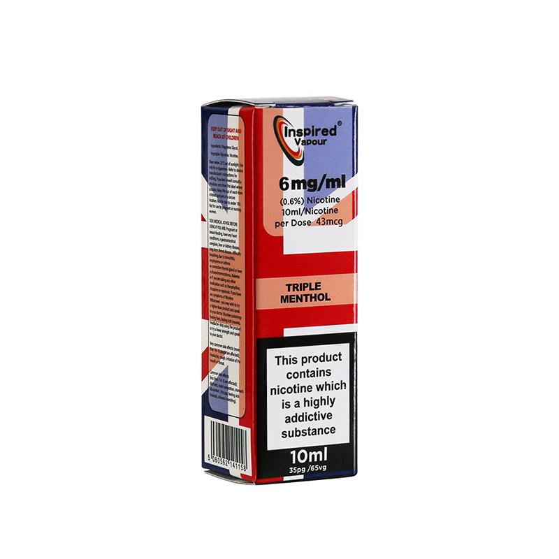Inspired-Triple Menthol Flavours E-Liquid-6mg-10ml