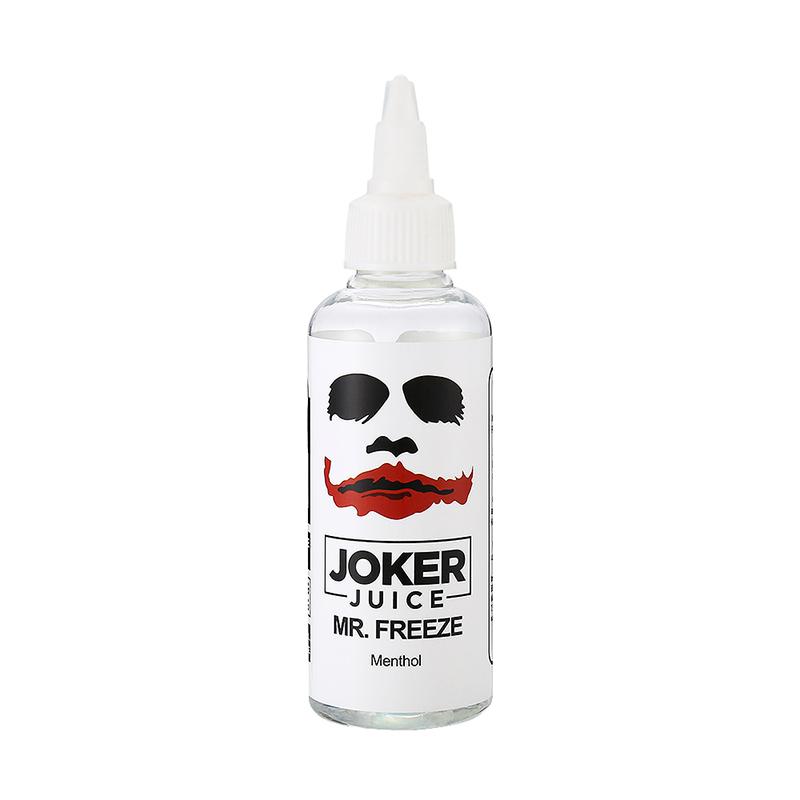 80ML Joker Juice E Juice MrFreeze Flavours Nicotine Free Eliquid