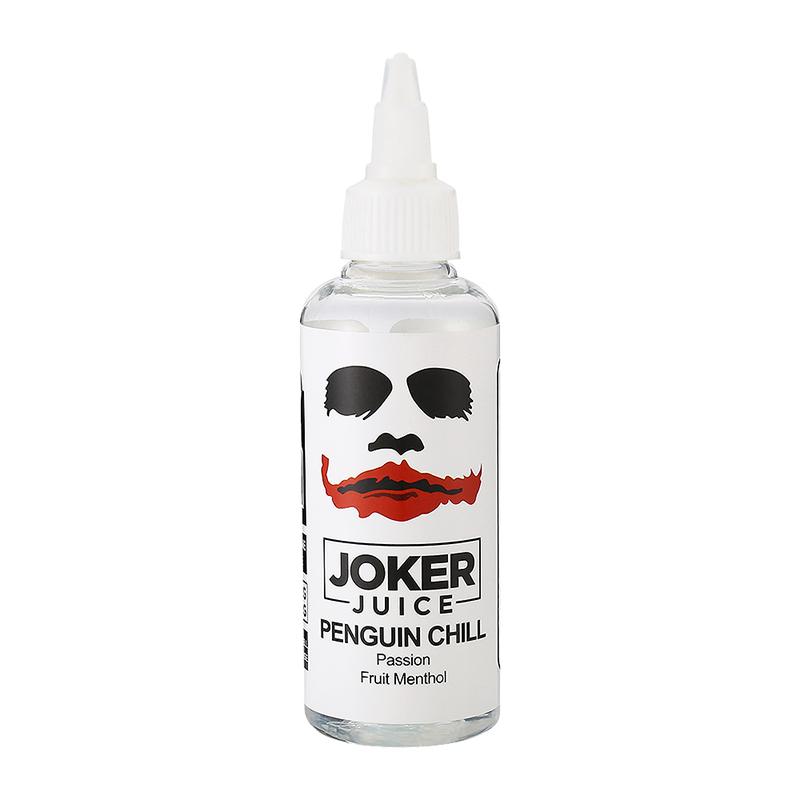 80ML Joker Juice E Juice Penguin Chill Flavours Nicotine Free Eliquid