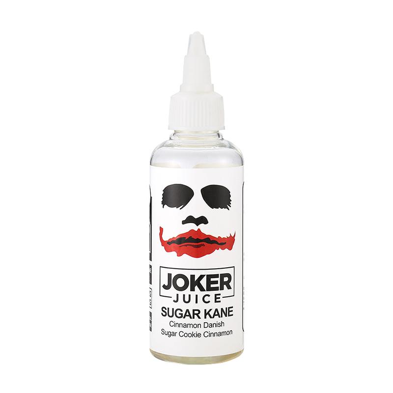 80ML Joker Juice E Juice Sugar Kane Flavours Nicotine Free Eliquid