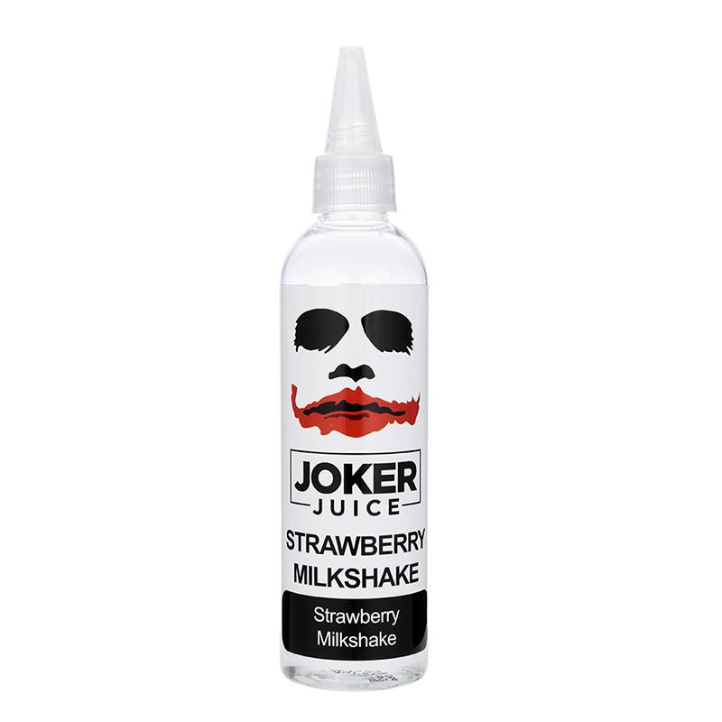 100ML Joker Juice Nicotine Free E-liquid-Strawberry Milkshake Flavour