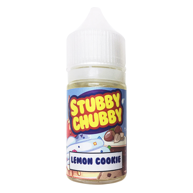 25ML Stubby Chubby Eliquid-Lemon Cookie Flavour-0mg