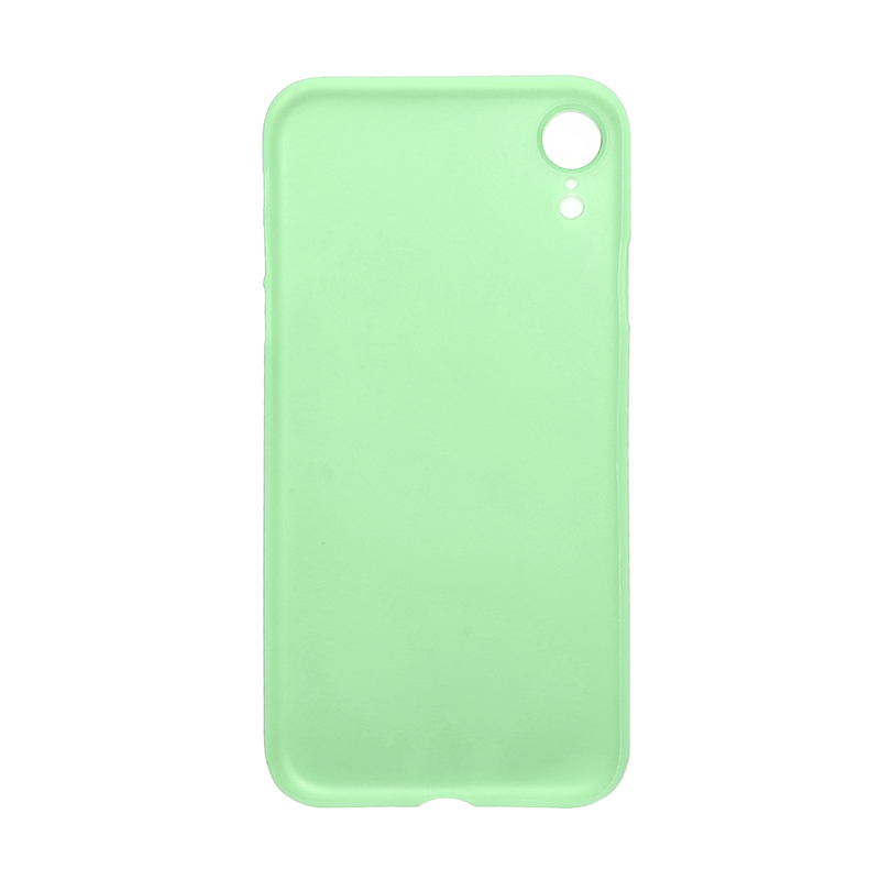 PC Frosted Grind Ultra Thin Hard Case Back Cover Shell for iPhone XR - Green