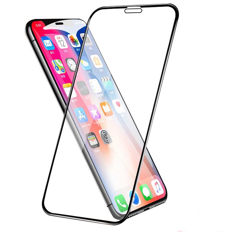 2.5D Full Coverage Film Tempered Glass Screen Protector for iPhone XR