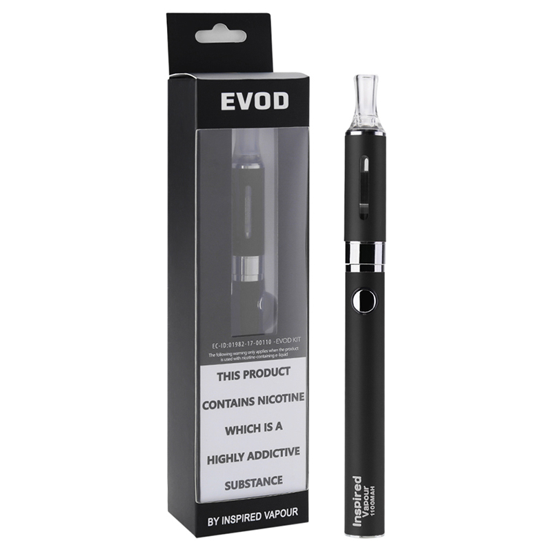 Inspired Vapour EVOD E-cig Kit Black