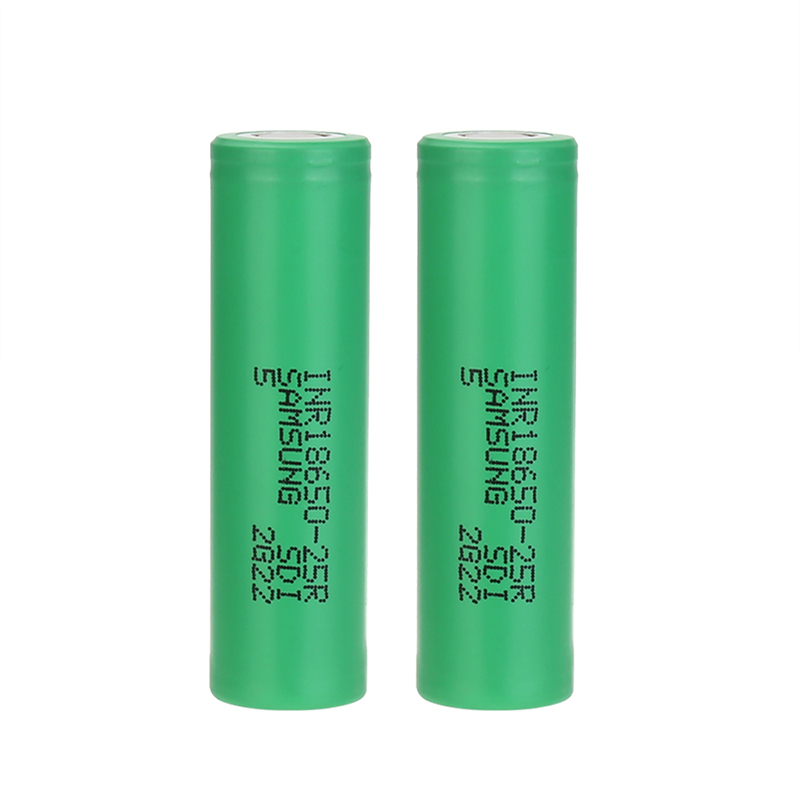SAMSUNG INR18650-25R High-drain Li-ion Battery 20A 2500mAh