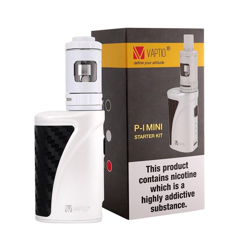 Vaptio TPD Version P-1 Mini Kit (Tank+Battery+Coil) - White