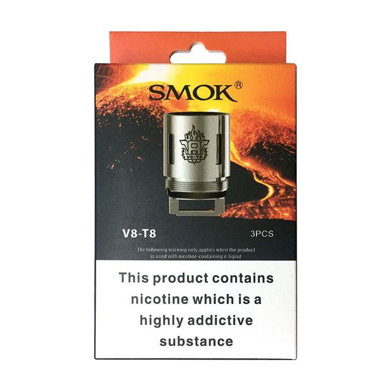 SMOK V8-T8 Replacement Coils 0.15ohm (3PCS)
