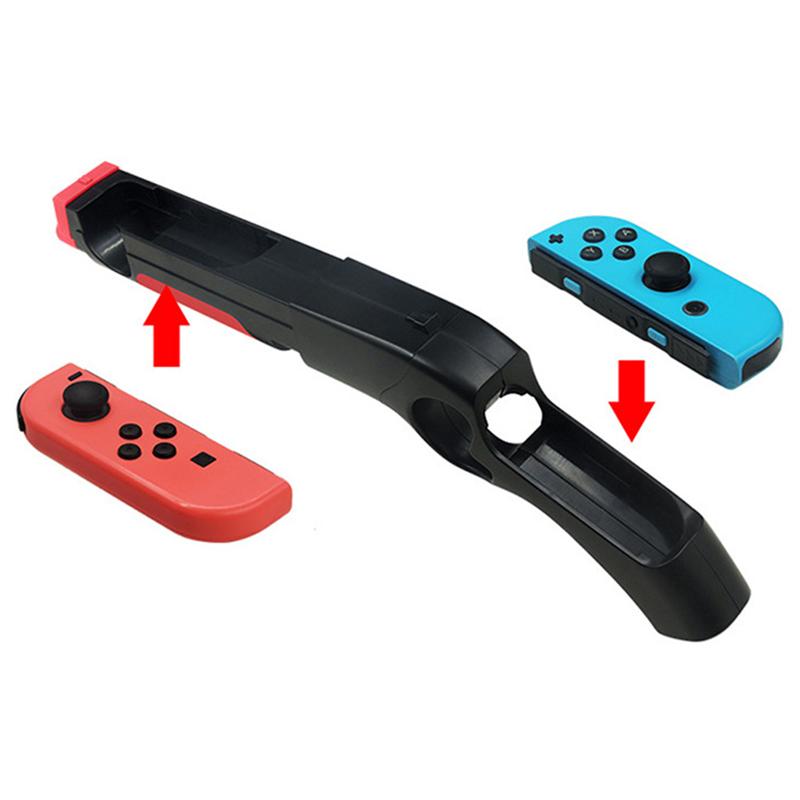 Handgrip Armas Arma Handle Joypad Holder Game Gun for Nintend Switch Controller