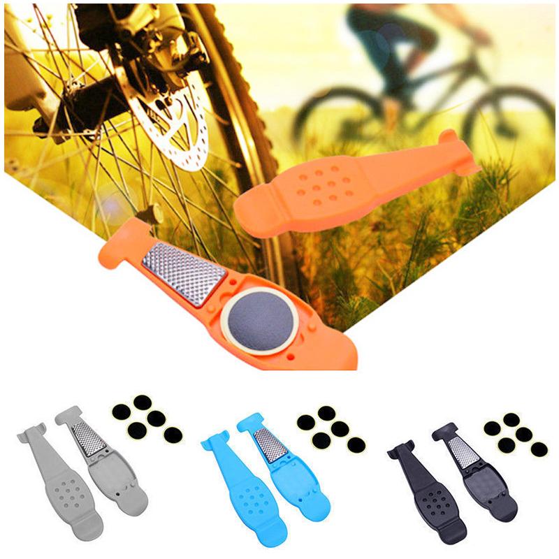 Bicycle Tire Repair Tools Kits Tyre Levers Opener Pry Bar Accessories-Black