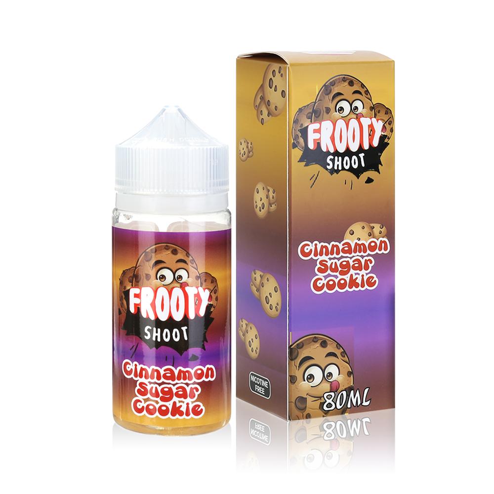 80ML 0MG E-cig E-liquid in 100ML Bottles American Eliquid-Cinnamon Sugar Cookie Flavour